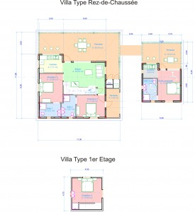 Drawing villa