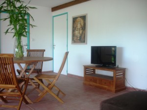 Holiday rental in Guadeloupe, Le Lagon Bleu dining room
